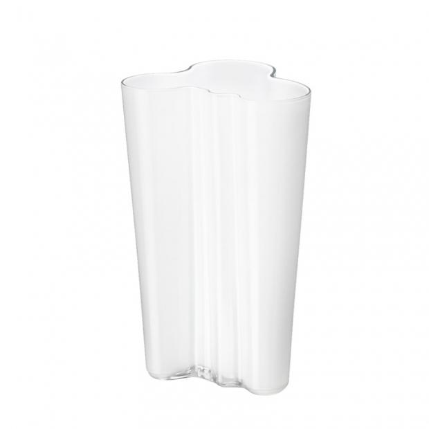 Váza Alvar Aalto 201mm, bílá