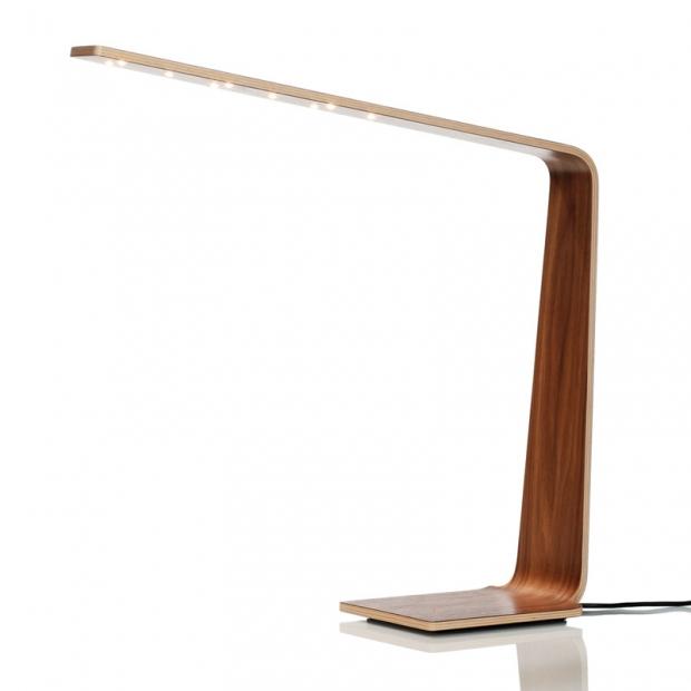Stolná lampa LED4, orech