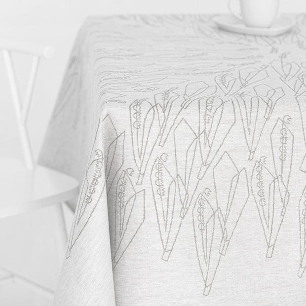 Ubrus Kielo 150x150, lněný