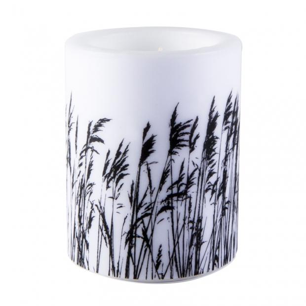 Svíčka s rákosím Nordic 12cm