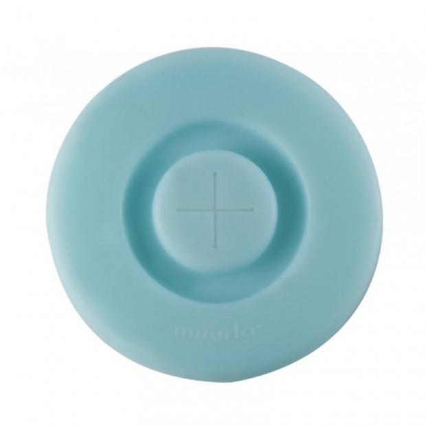 Silikonové víčko na hrnek, modré