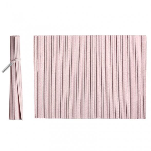 Prostírání Iittala X Issey Miyake 36x48, růžové