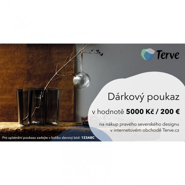 Vianočný darčekový poukaz na 200 €