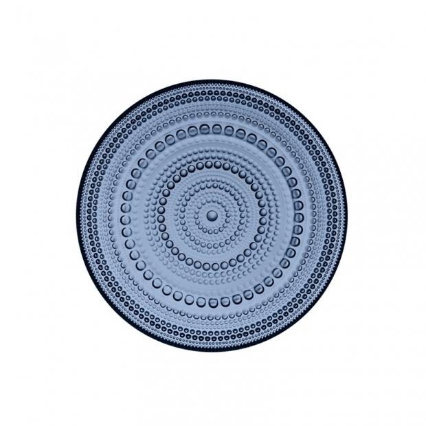 Talíř Kastehelmi 17cm, modrý rain
