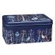 Plechový box Taika, modrý