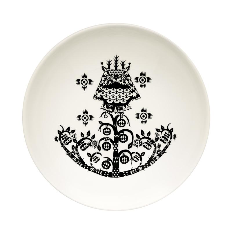 Hluboký talíř Taika 20cm, černý