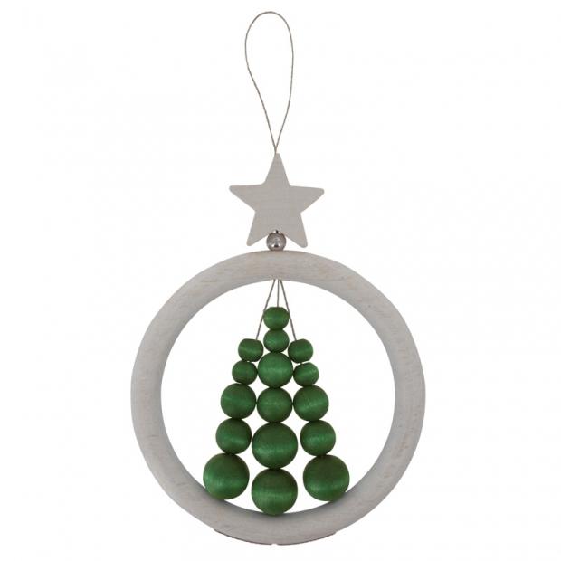Závěsná dekorace Vánoční stromek