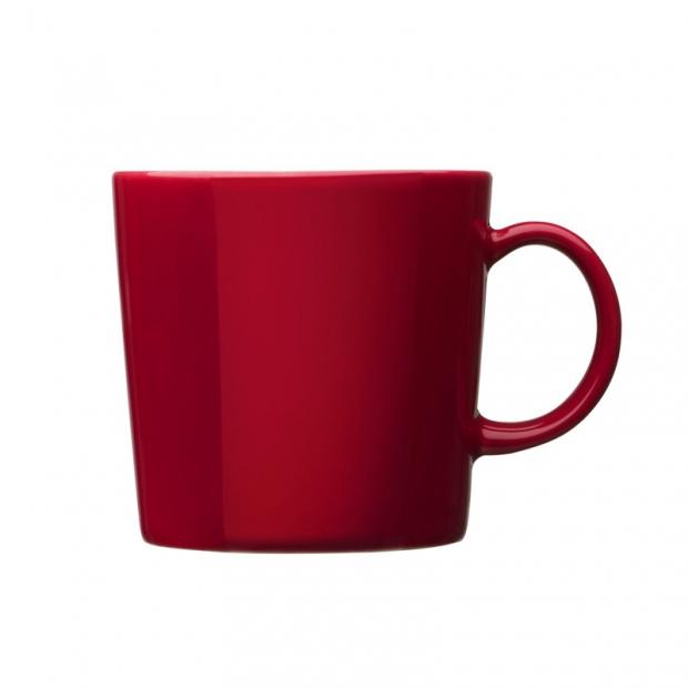 Hrnček Teema 0,4l, červený