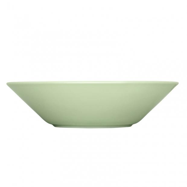 Hluboký talíř Teema 21cm, zelený