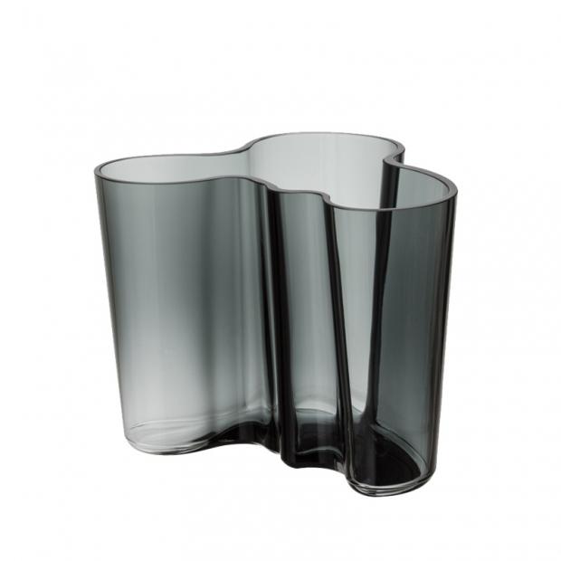 Váza Alvar Aalto 120mm, tmavo sivá