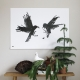 Plakát Raging Ravens 100x70