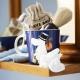 Hrnek Moominpappa 0,3l, modrý