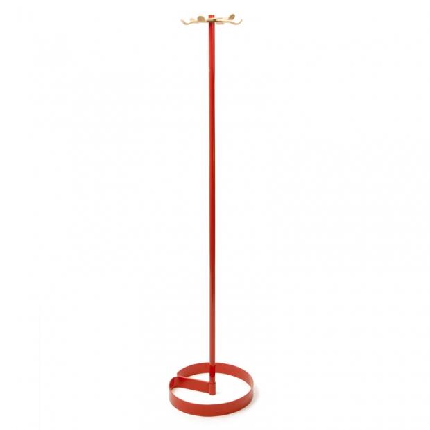 Stojanový vešiak Propel, červený