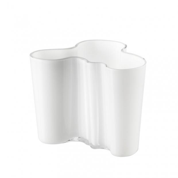 Váza Alvar Aalto 120mm, biela
