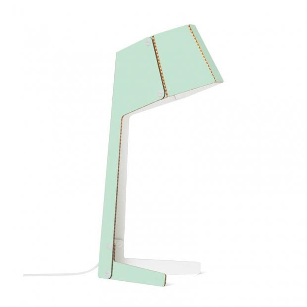 Stolná lampa No.3, polar mint