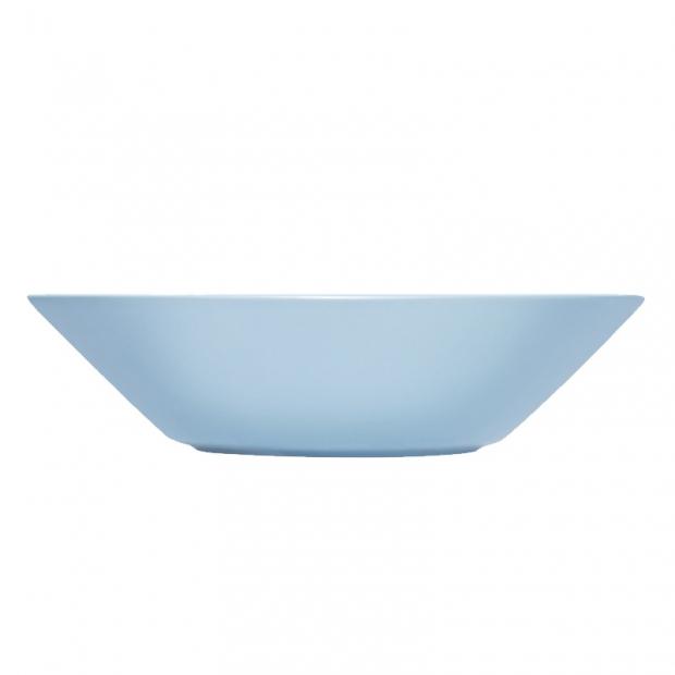 Hluboký talíř Teema 21cm, světle modrý