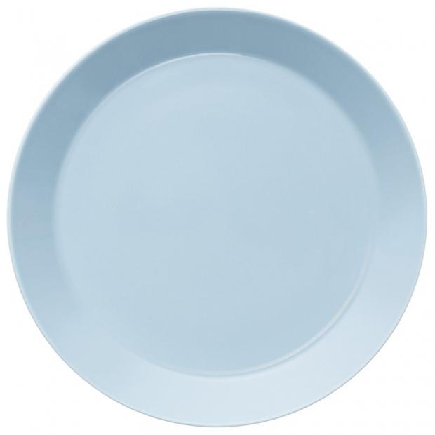 Talíř Teema 26cm, světle modrý