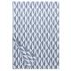 Deka Triano 140x200, modro-bílá