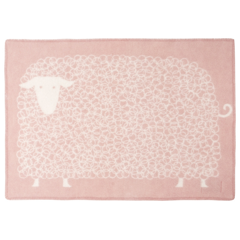 Vlněná deka Kili 90x130, růžová