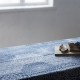 Deka Ruut 140x240, modro-bílá