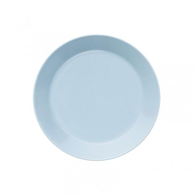 Talíř Teema 21cm, světle modrý
