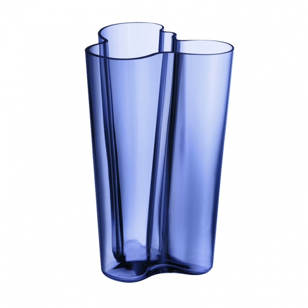 Váza Alvar Aalto 251mm, ultramarínová modrá