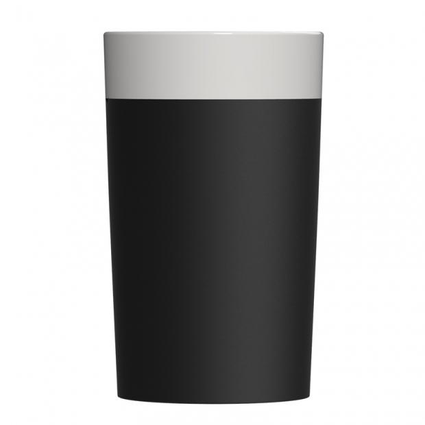 Chladicí nádoba na víno, černo-bílá