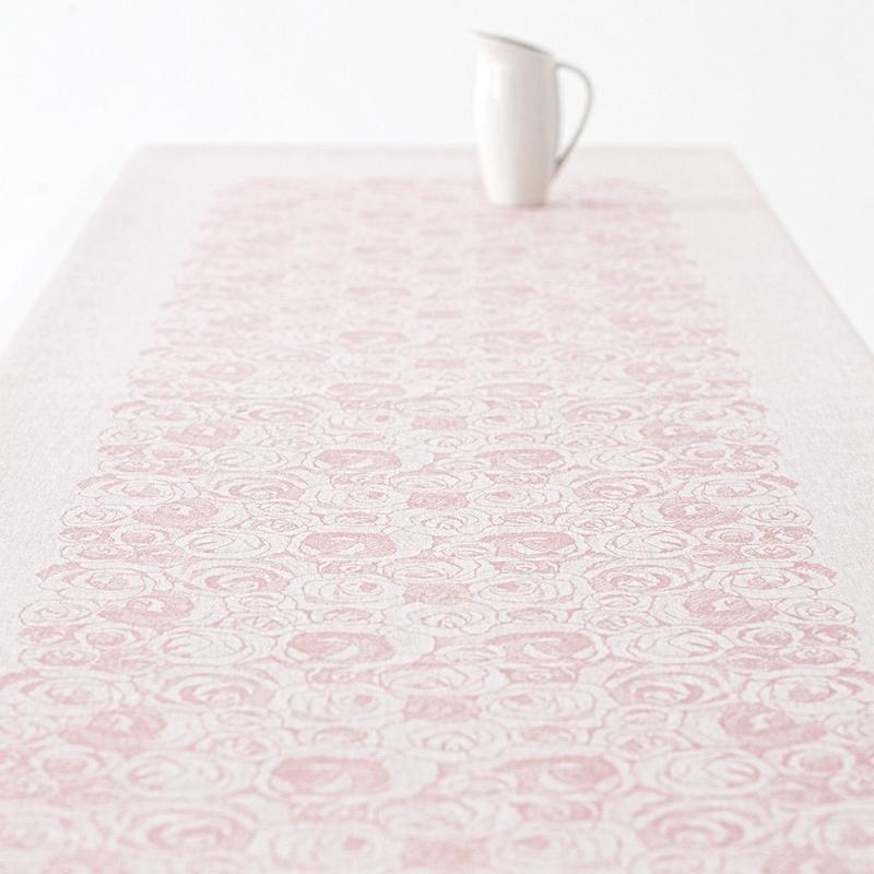 Ubrus Ruusua 150x320, růžový