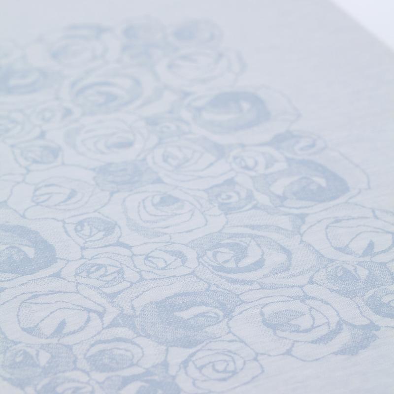 Ubrus Ruusua 150x150, modrý