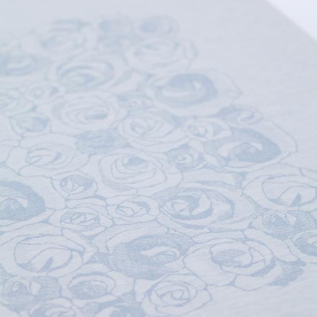 Ubrus Ruusua 150x260, modrý