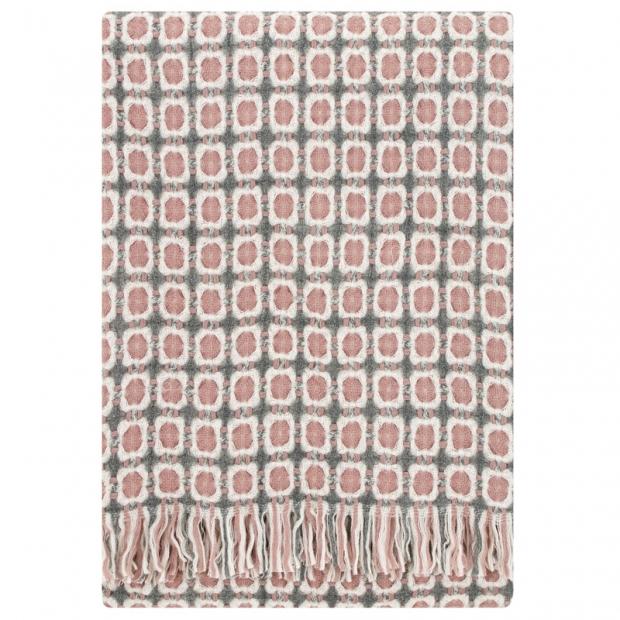 Vlnená deka Corona 130x170, ružová