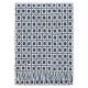 Vlněná deka Corona 130x170, modrá