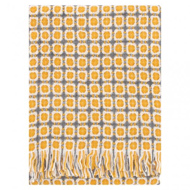 Vlněná deka Corona 130x170, oranžová
