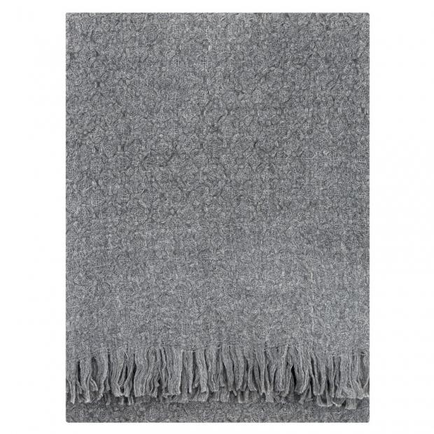 Vlnená deka Corona Uni 130x170, svetlo sivá