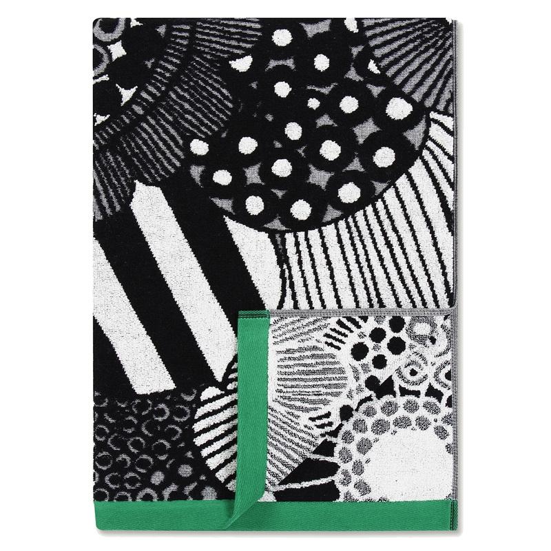 Osuška Siirtolapuutarha 70x150, zelená