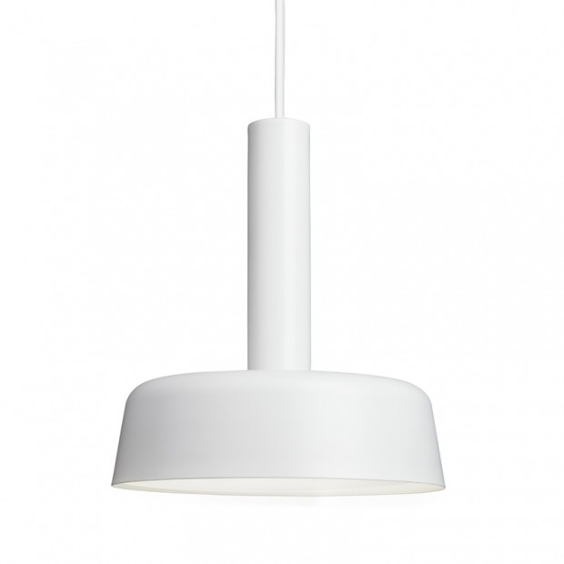 Závesná lampa Cafe 240, biela