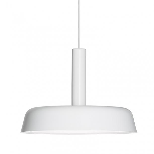 Závesná lampa Cafe 370, biela