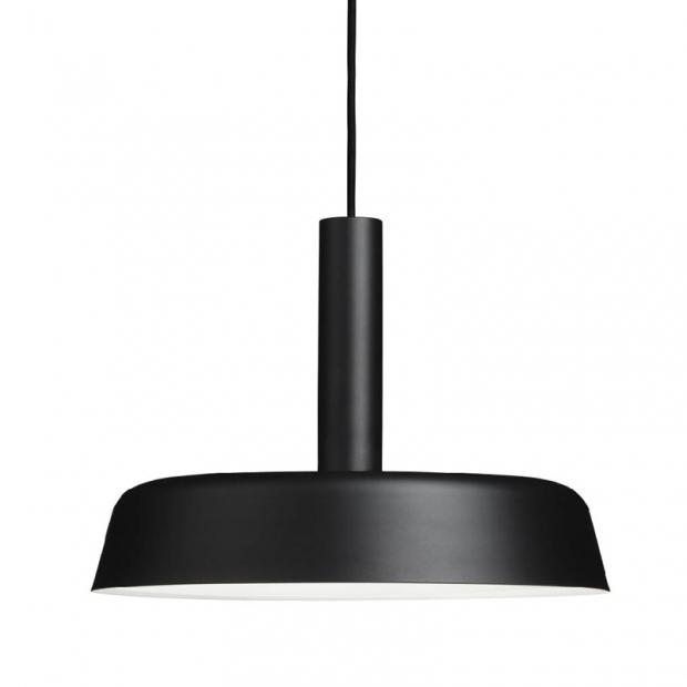 Závesná lampa Cafe 370, čierna