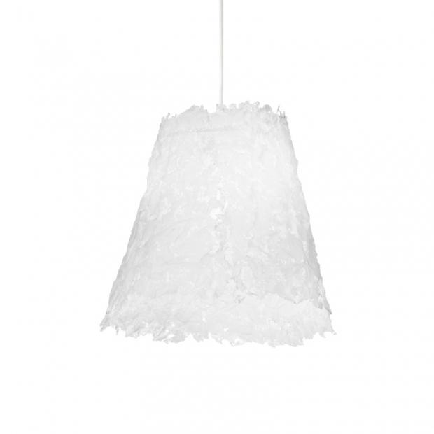 Závěsná lampa Frost 430, bílá