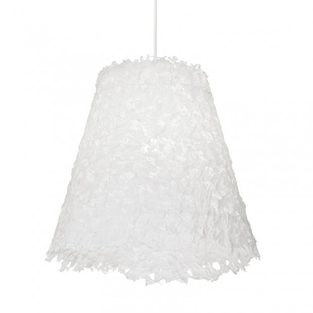 Závěsná lampa Frost 600, bílá