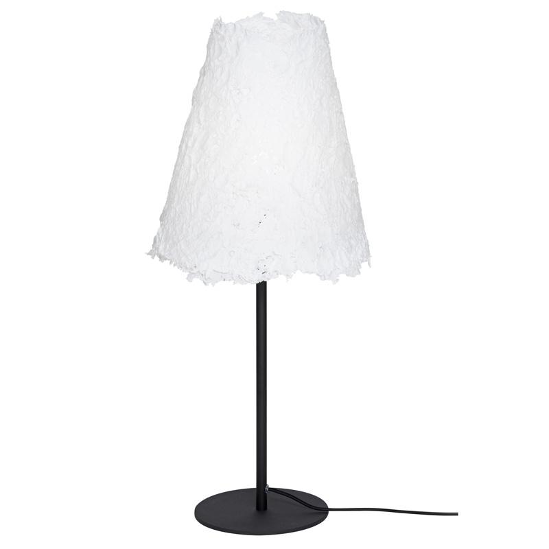 Stolní lampa Frost, černý podstavec