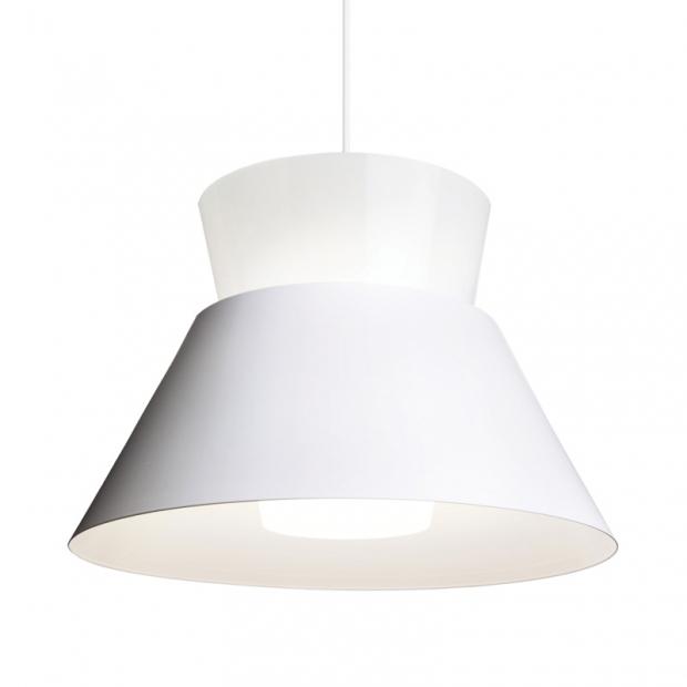 Závesná lampa Kartiot, biela