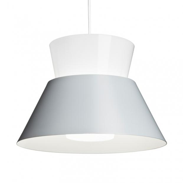 Závesná lampa Kartiot, sivá