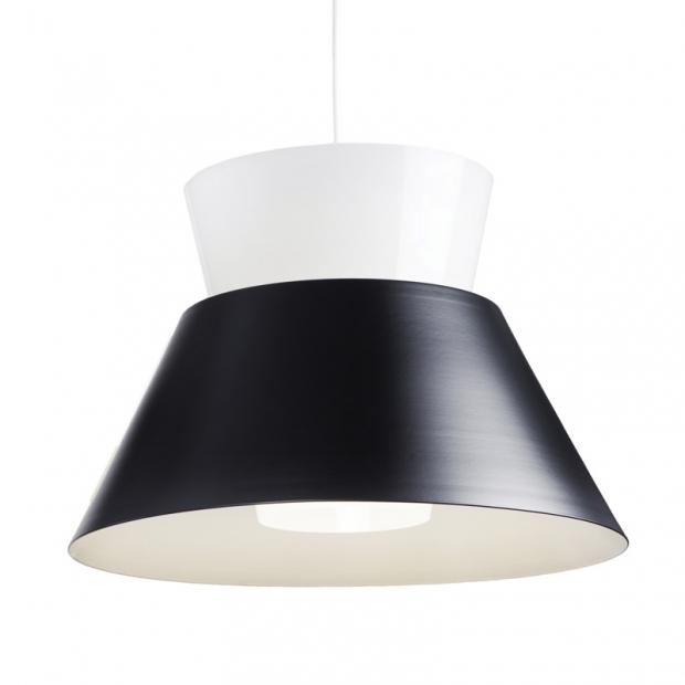 Závesná lampa Kartiot, čierna