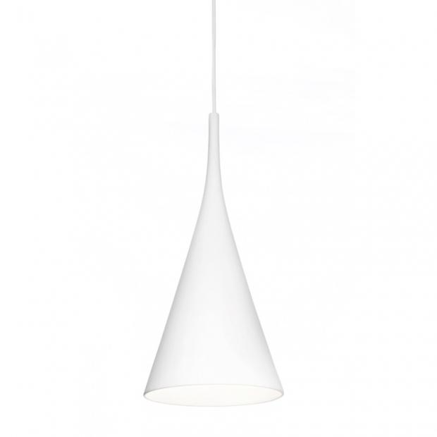 Závesná lampa Lambada, biela
