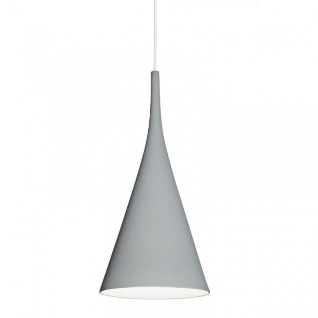 Závesná lampa Lambada, sivá