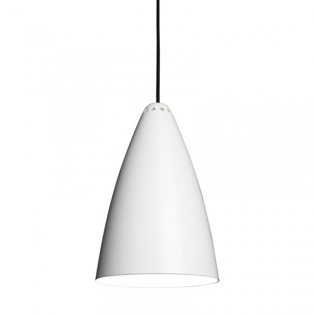 Závěsná lampa Laura 190, bílá
