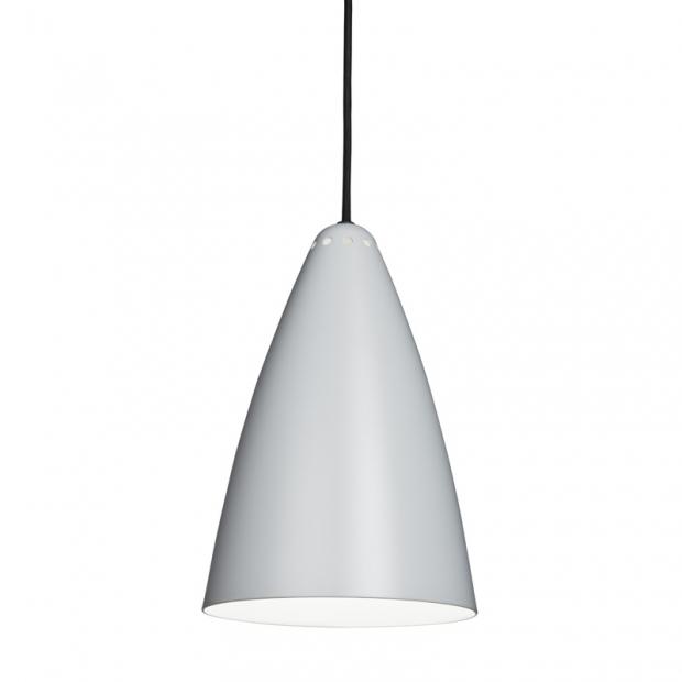 Závesná lampa Laura 190, sivá
