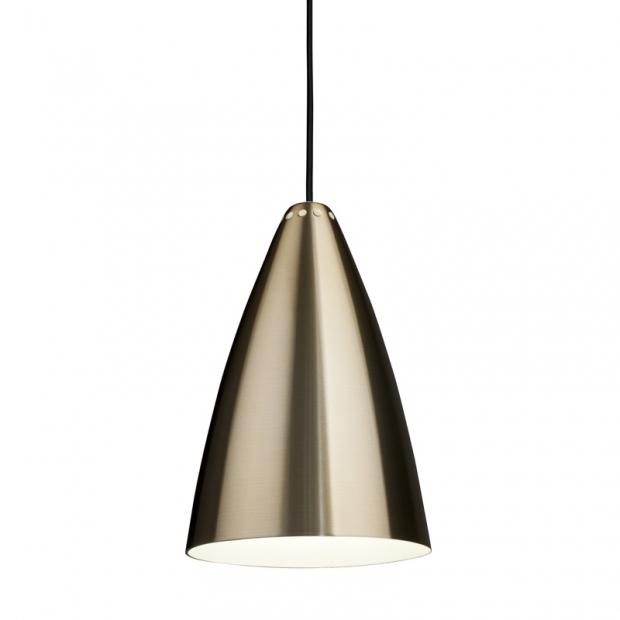 Závesná lampa Laura 190, mosadzná