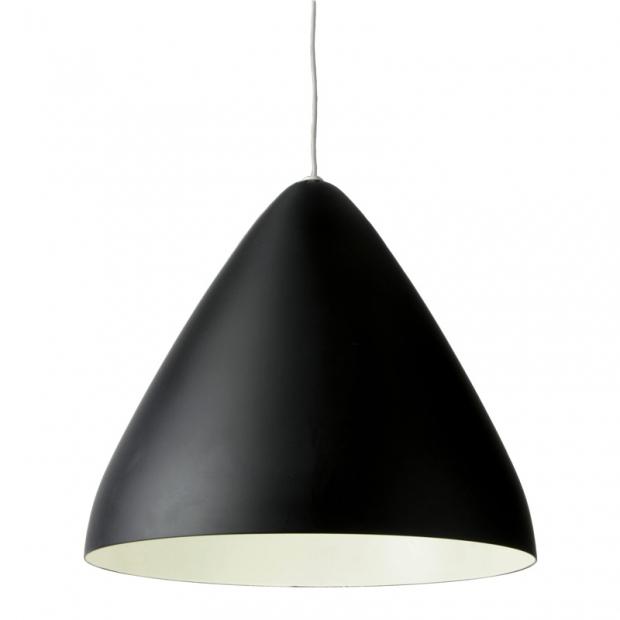 Závesná lampa Laura 320, čierna